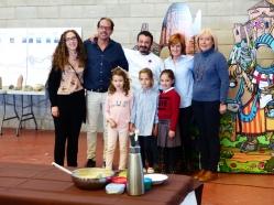 Las reinas infantiles entregan el premio a Carles González